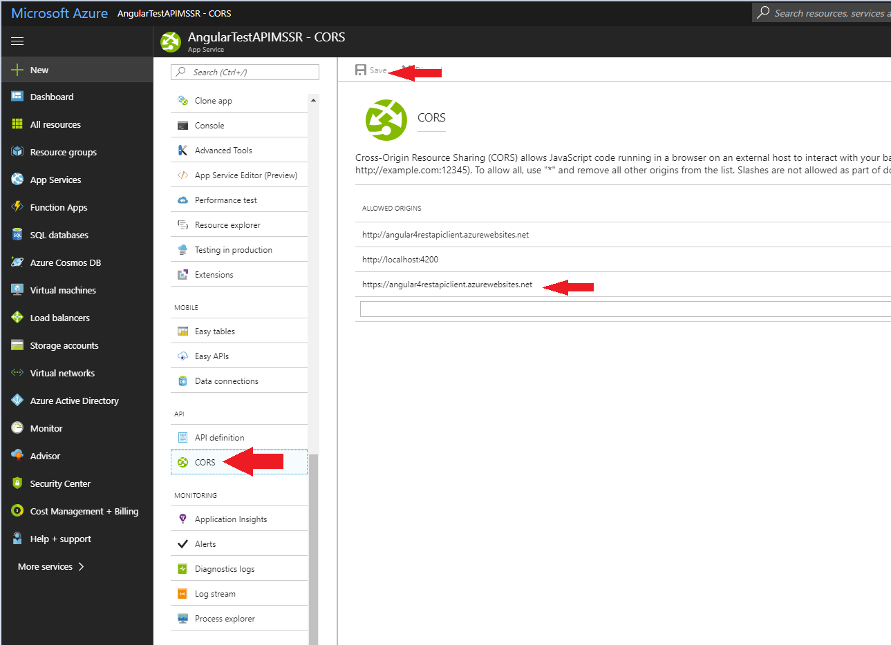 Creating Restful Web Services With Web Tokens And Azure