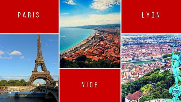 Les services d'Extracadabra présent à Paris, Nice et Lyon