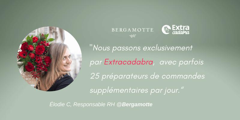 Avis Bergamotte recrutement staff extracadabra