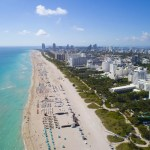 Miami, FL and beach
