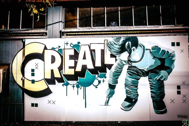 Create mural in Oakland, CA