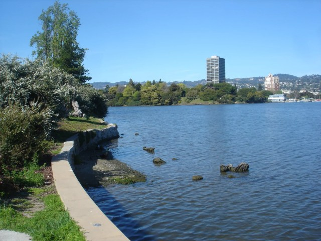 Lake Merritt in Oakland, CA