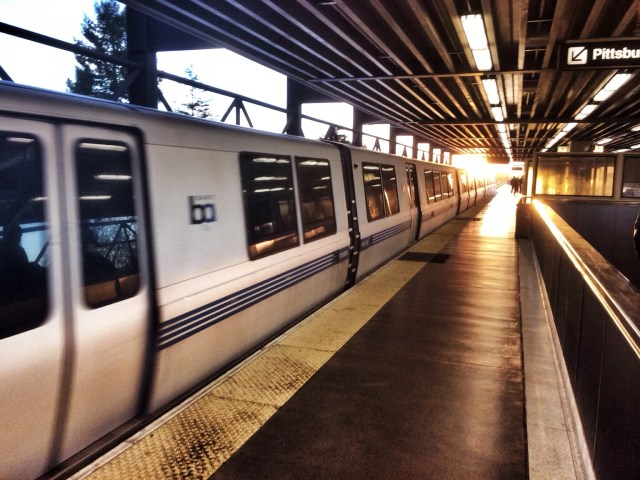 BART system in Oakland, CA