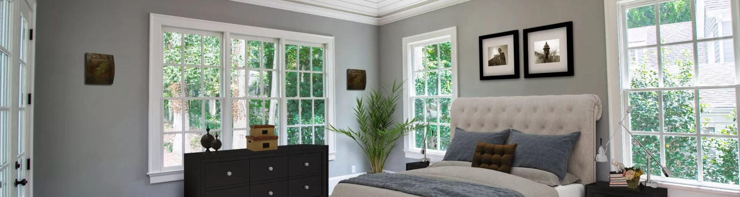 Bedroom virtually staged by Krisztina Bell, Virtually Staging Properties
