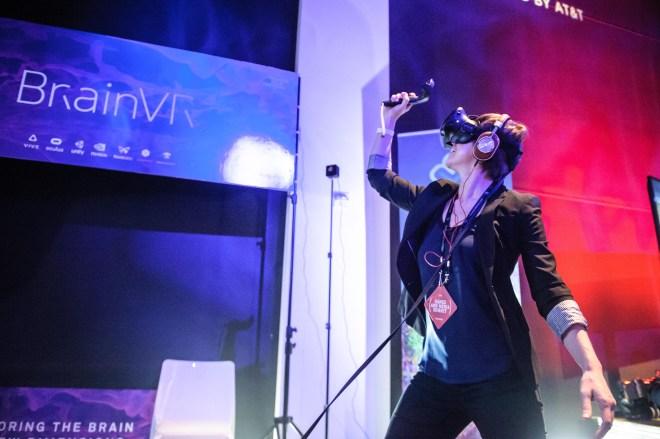BrainVR, Amy Sterling, Amy Robinson Sterling, Tribeca Film Festival, Brain, neuroscience, virtual reality, brain VR, neuroscience VR, VR, Tribeca Film Festival, NYC, MIT Media Lab