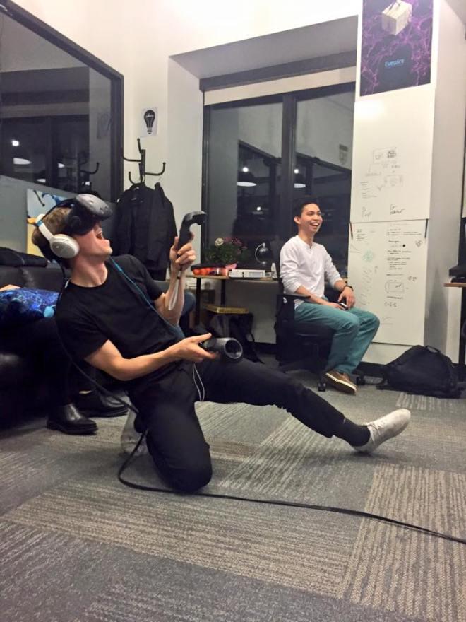 awesome VR, virtual reality, VR, awesome, Vive, HTC, Alex Norton