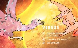 vs, Archaeopteryx, Pterodactyl