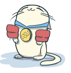 Eyewire, citizen science, Summer Olympics, eyewire hero, hero, Nurro, cute, cat, fat cat, swimming cat, winning, gold medal