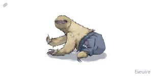 sloth, Eyewire, citizen science