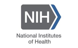 NIH logo, white background, NIH
