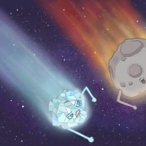 Eyewire, citizen science, comet, asteroid