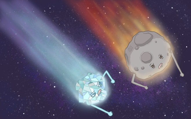 Eyewire, citizen science, comet, asteroid, asteroid vs meteor, asteroid vs comet, comet vs meteor, meteor, funny, space rocks