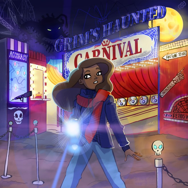 eyewire, citizen-science, accuracy happy hour, carnival, haunted, grim