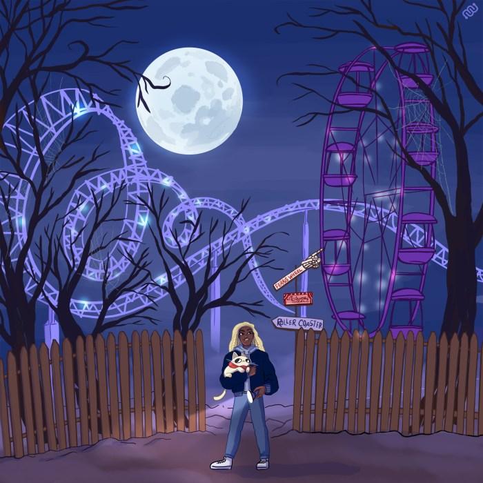 eyewire, citizen-science, versus, grim, carnival, ferris-wheel, roller-coaster, thrill, chill, thrill vs chill, chill vs thrill, magic, halloween, haunted, carnival, full moon, nurro, brax