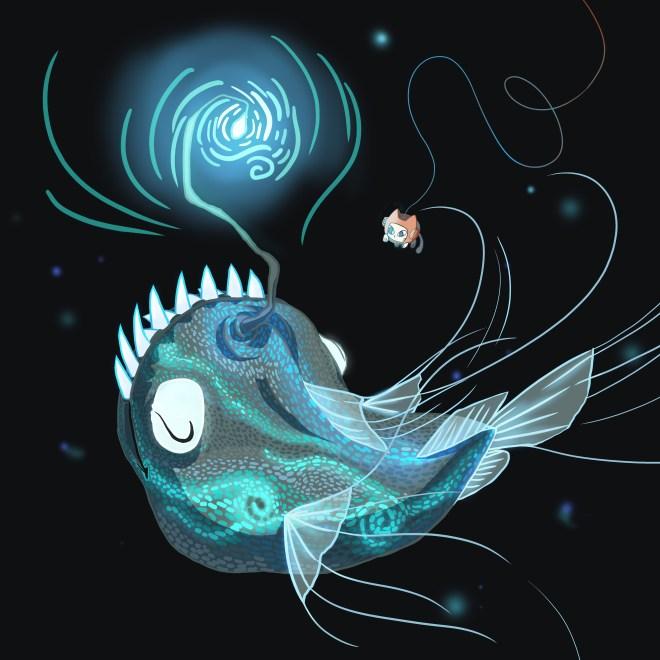 anglerfish, Nurro, marine biology, Eyewire, citizen science, Undersea Odyssey