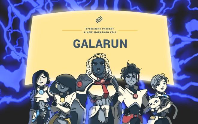 galarun, Eyewire, marathon, citizen science, Nurro, Brax, Syke, Flyx, Lina, Rika