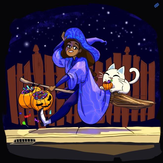 Rika, Nurro, Daniela Gamba, Halloween, Grim's Trick or Treat, Eyewire, citizen science
