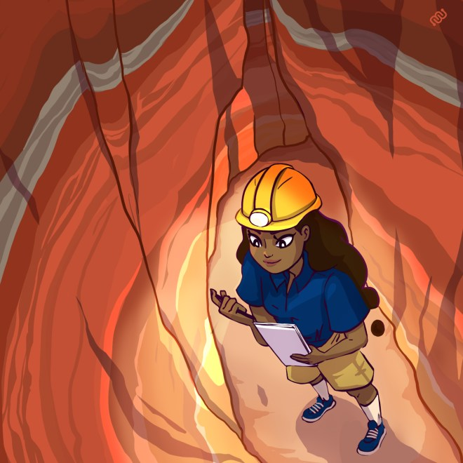 Daniela Gamba, Rika, stratigraphy, Eyewire, Eyewire Rocks, geology, citizen science