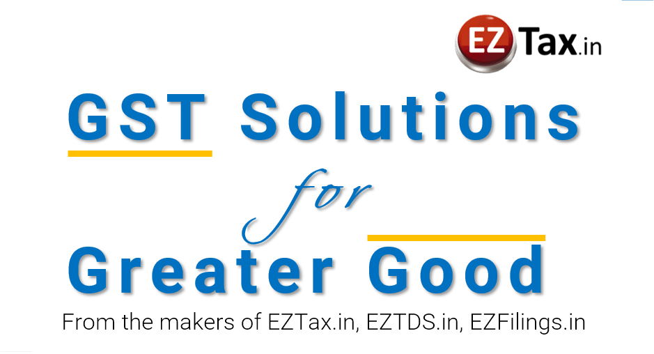GST Solutions from EZTax.in
