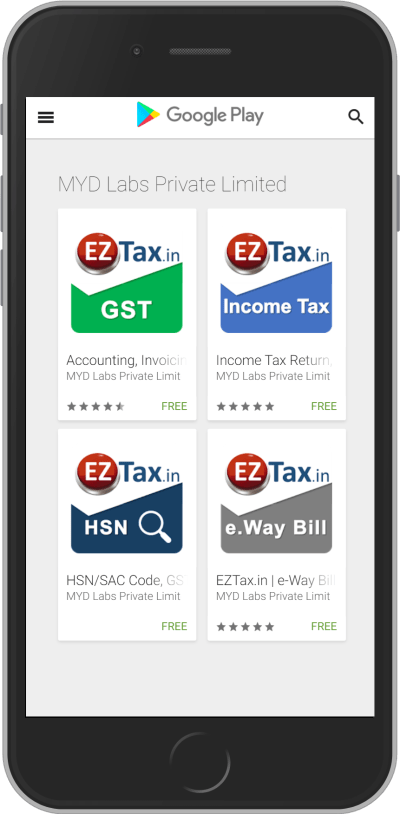 Taxes made Easy thru Planning, Saving, Filing GST Accounting App