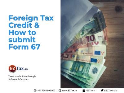 ForeignTax Credit @ EZTax.in NRI Help Center