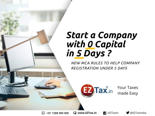 Starting a new Business in India with zero capital and under 5 days