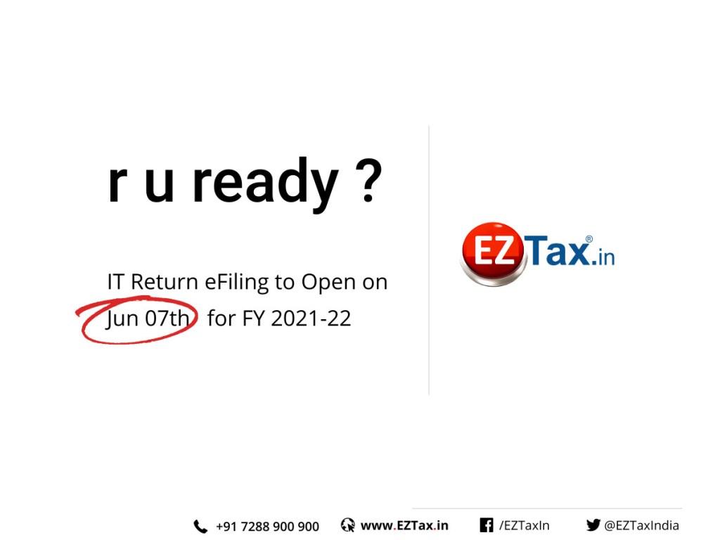 New e-Filing Portal 2.0 set to release on Jun 07th 2021