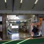 軽井沢駅しなの鉄道改札