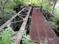 残されている鉄橋