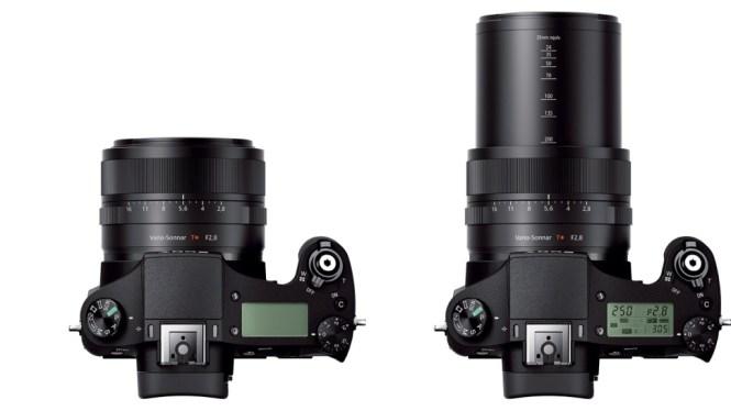 Sony CyberShot RX10 top
