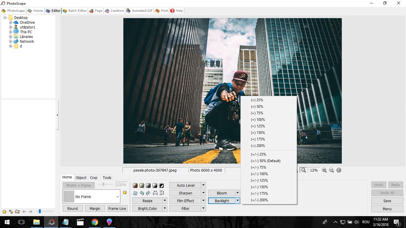 soft gratuit editare foto