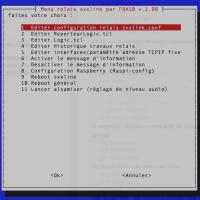 SVXLINK: Réalisation d'un menu sous linux