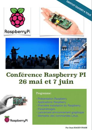 affiche raspberry