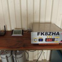 Le relais du Mont Do, FK8ZHA donne la voix !
