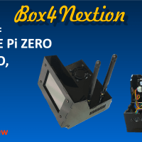 Box4Nextion pour Raspberry PI4