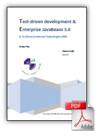 TDD & EJB report
