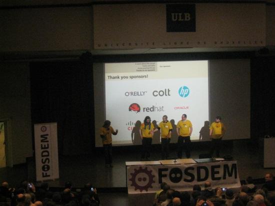 Keynote d'ouverture Fosdem
