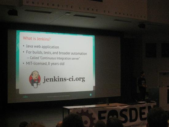 Keynote sur Jenkins