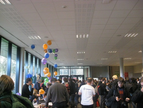 Part of the open source stands