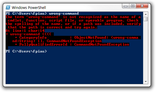 PowerShell Screen 2