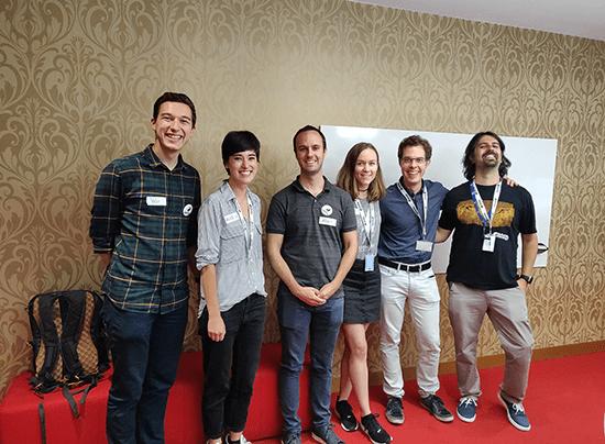 Mentors CoderDojo: Veli, Alice, Adam, Ana, Fabian, Nicola