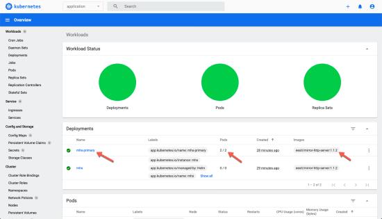 MHS 1.1.2 est déployé dans votre cluster