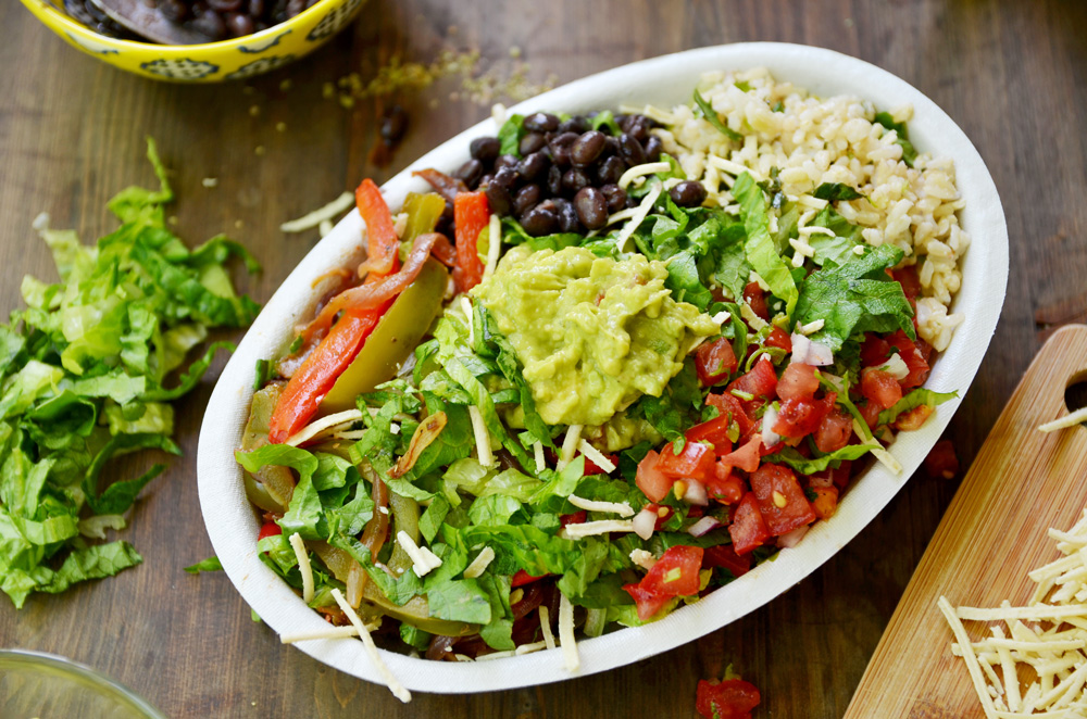 DIY Chipotle Burrito Bowl Fablunch