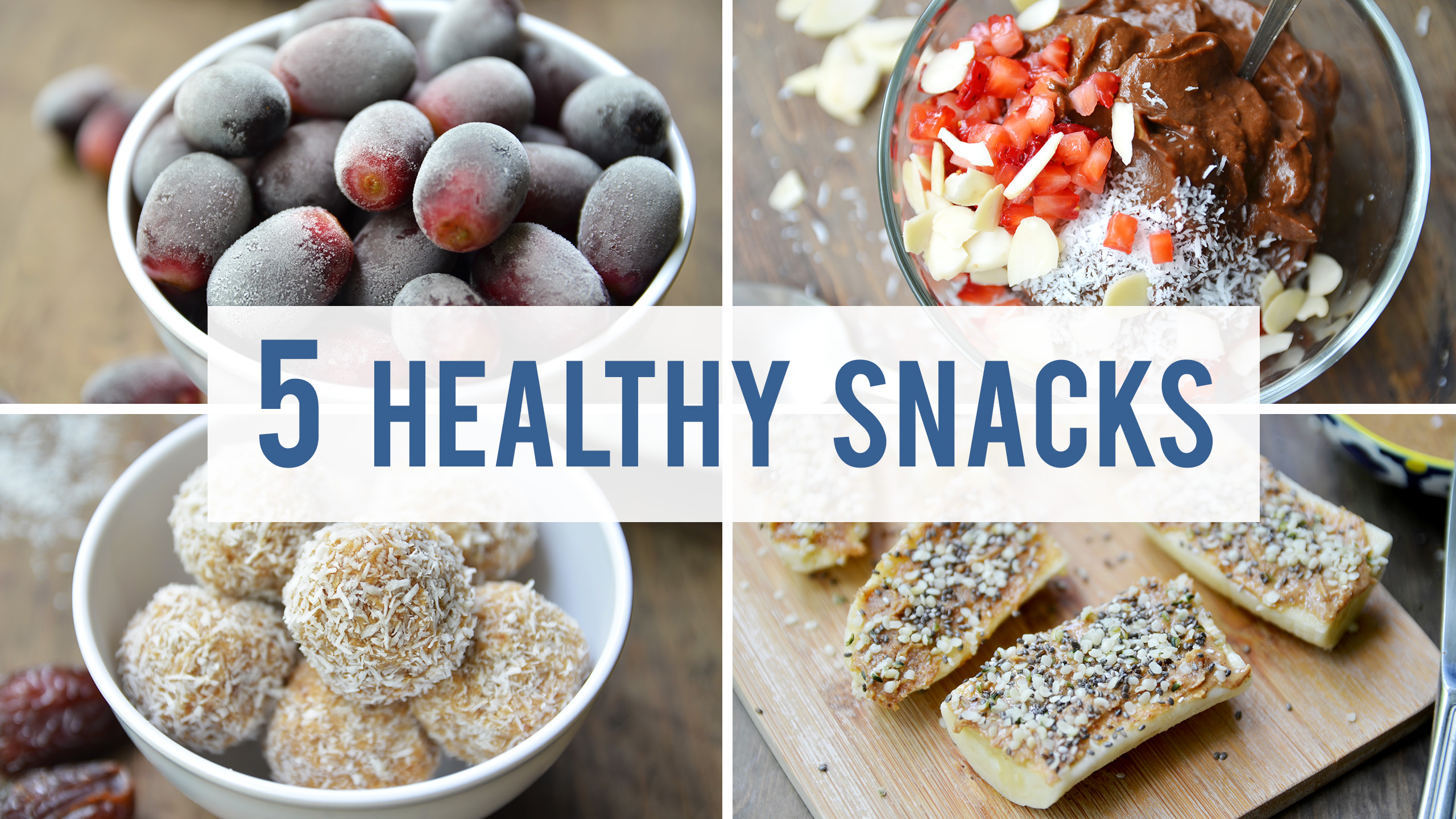 5 Healthy Snacks For Your Sweet Tooth