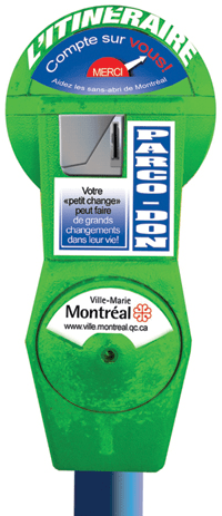 Itinéraire parking meter