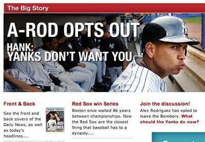 A-Rod again (NY Daily News)