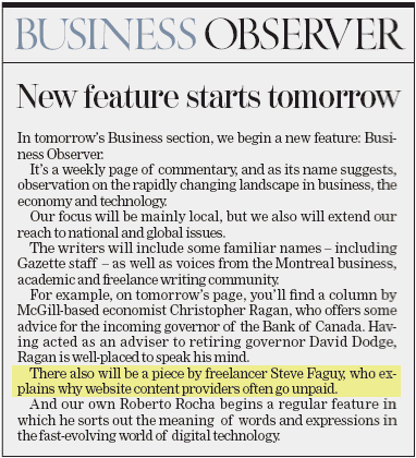 Business Observer preview