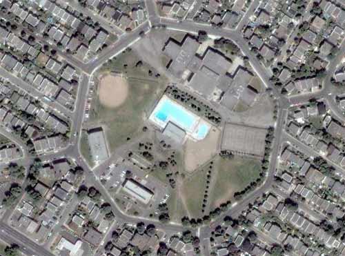 Mystery location satellite photo