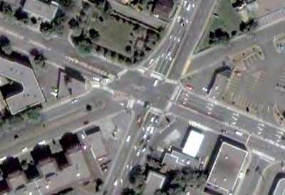 5-way intersection No. 2