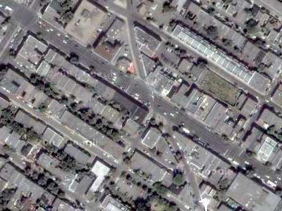 5-way intersection No. 3